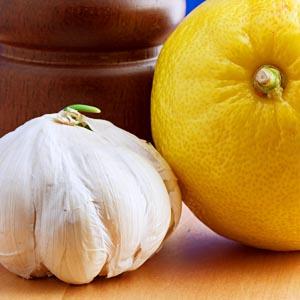 سیر و لیمو ترش